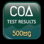 COA for Nourish Body Oil-percentage of CBD