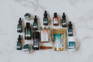 Full LIne of BluPeak Botanics Products